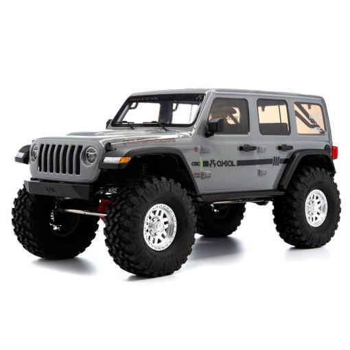 1/10 SCX10 III Jeep JLU Wrangler w/Portals,Gray - RTR