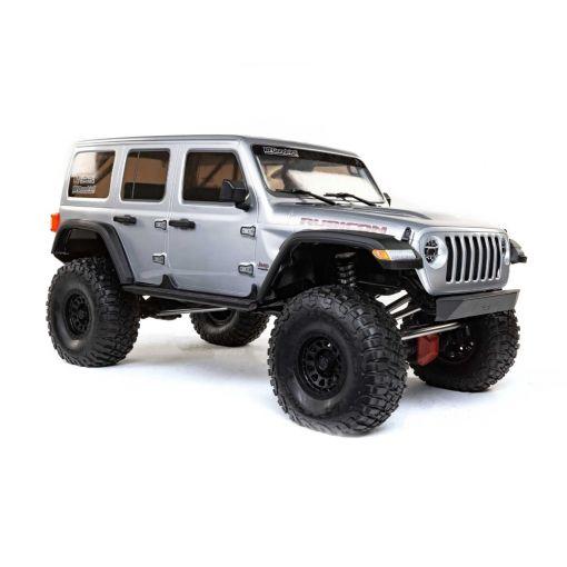 1/6 SCX6 Jeep JLU Wrangler 4WD Rock Crawler RTR: Silver