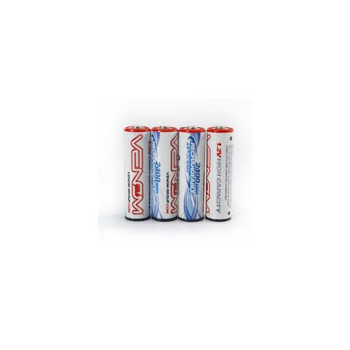 2400mAh High Capacity NiMH AA 4 pack
