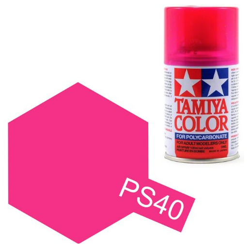PS-40 Translucent Pink Spray - 3,4oz/100ml
