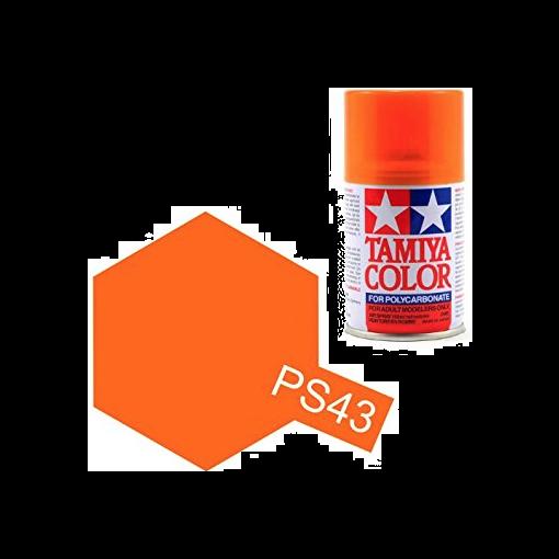 PS-43 Translucent Orange Spray - 3,4oz/100ml