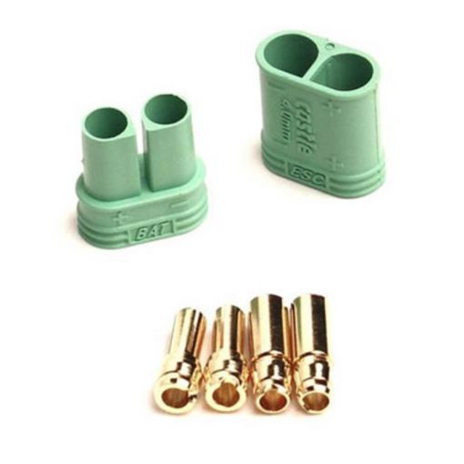 4MM POLARIZED BULLET CONNECTOR SET