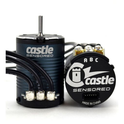 4-Pole Sensored BL Motor, 1406-2850Kv 060-00070-00
