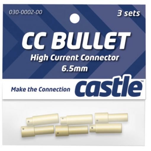 6.5mm High Current CC Bullet Connector Set