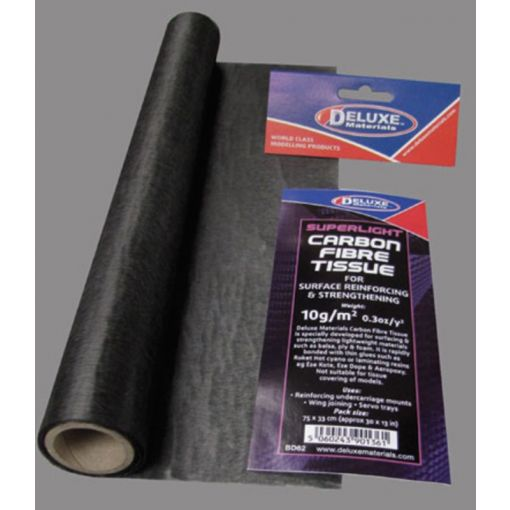 Lightweight Carbon Tissue
