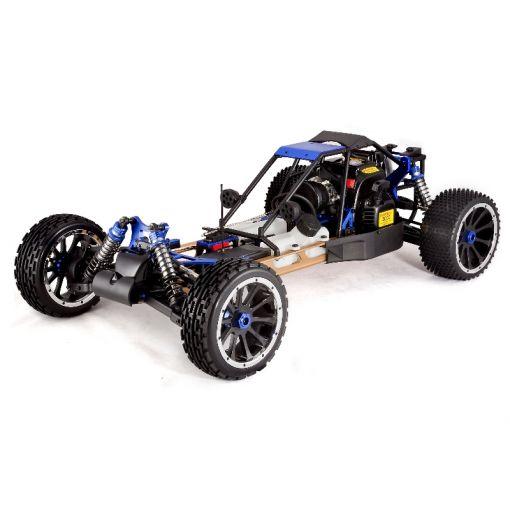 1/5 Scale RAMPAGE DUNERUNNER V3  Gas Buggy - Black/Blue