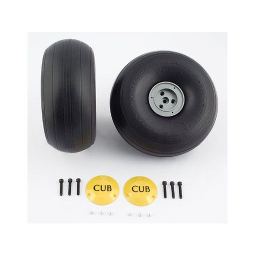 1/3 Lightweight J-3 Cub Wheels (2/pkg)
