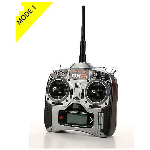 DX6i DSMX 6-Channel Transmitter Only Mode 1