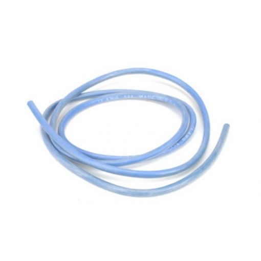 12AWG Silicone Wire 3\', Blue