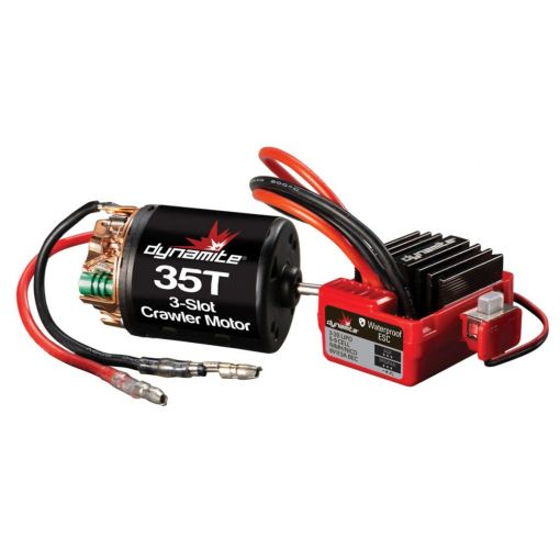 Brushed Crawler Motor/ESC Combo 35T