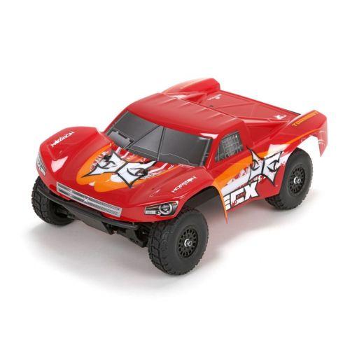 1/18 Torment 4WD Short Course Truck: Red/OrangeRTR