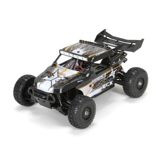 1/18 Roost 4WD Desert Buggy: Black/Orange RTR