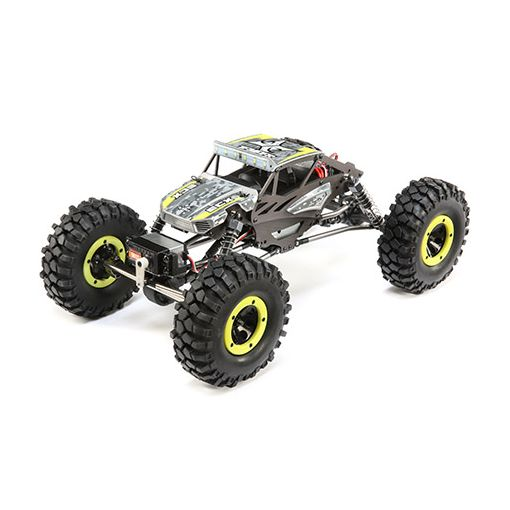 1/18 4WD Temper Gen 2, Brushed: Yellow RTR