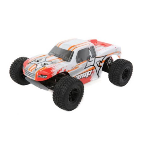 1/10 AMP MT 2WD Monster Truck:White/Orange RTR