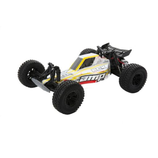 1/10 AMP DB 2WD Desert Buggy: White/Red RTR