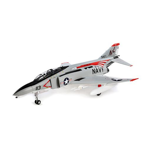 F-4 Phantom 80mm EDF BNF Basic w/AS3X and SS
