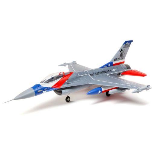 F-16 Falcon 64mm EDF BNF w/AS3X & SAFE Select