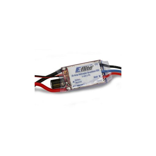 25-Amp Helicopter Brushless ESC