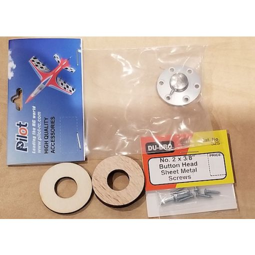 Wood adaptator Assy & Pilot RC fuel dots