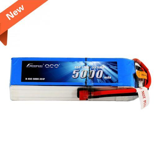 5000mAh 3S1P 11.1V 45C LiPo Deans Plug Soft Case
