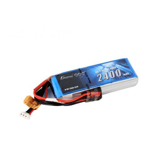 2400mAh 2S1P 7.4V Receiver LiPo JST Plug