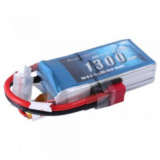 1300mAh 11.1V 45C 3S1P Lipo Battery Pack w/ Deans
