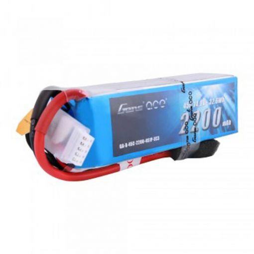 2200mAh 14.8V 45C 4S1P Lipo Battery Pack with EC3