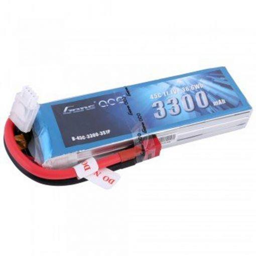 3300mAh 11.1V 45C 3S1P Lipo Battery Pack w/ Deans