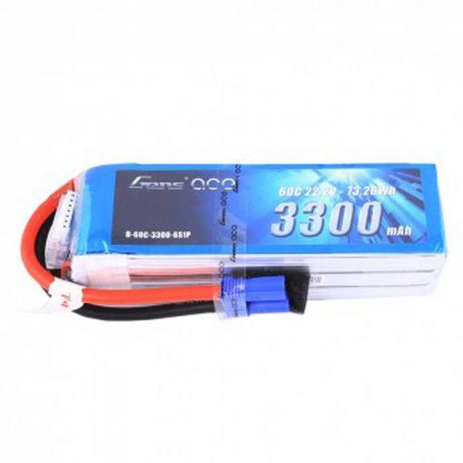 3300mAh 22.2V 60C 6S1P Lipo Battery Pack with EC5