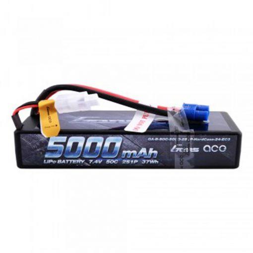 5000mAh 7.4V 50C 2S1P Lipo Battery Pack 24# w/Dean