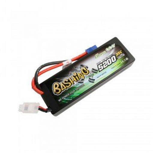 5200mAh 7.4V 35C 2S1P Lipo Battery with EC3