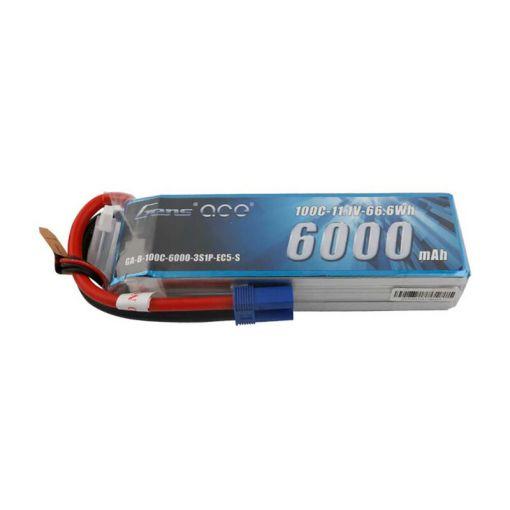 6000mAh 3S 11.1V 100C Lipo: EC5
