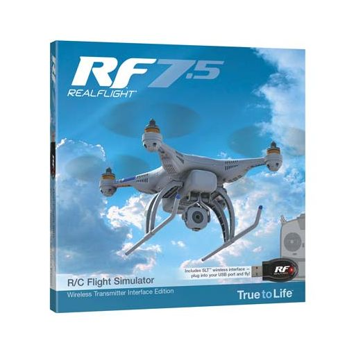 REALFLIGHT 7.5 W/SLT INTERFACE