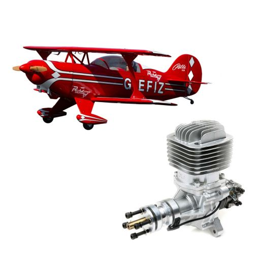 Pitts S-2B 50-60cc w/ DLE61cc Gas Engine