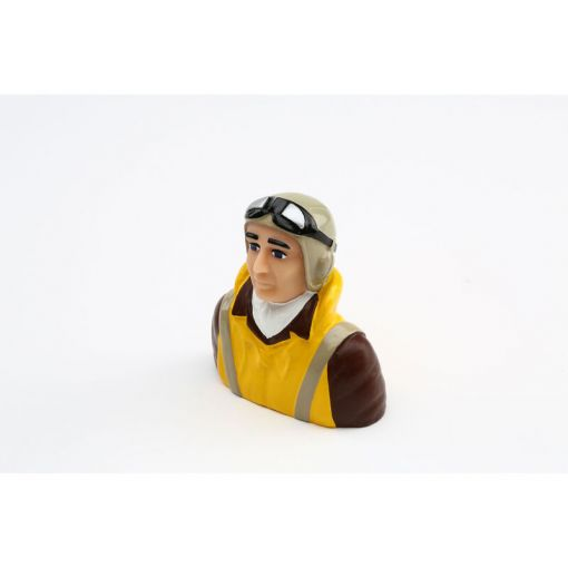 1/5 Scale WWII Pilot with Vest, Helmet & Goggles