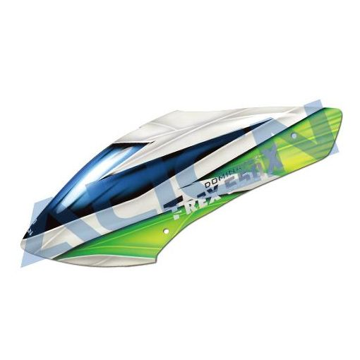 550X Painted Canopy - Blue/Green
