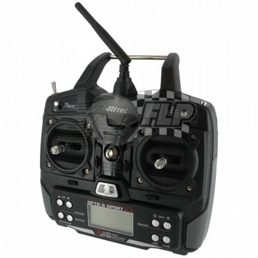 Optic 6 - 6 Channel 2.4GHz Sport Radio System