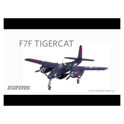 FMS 1700mm F7F Tigercat PNP; Blue