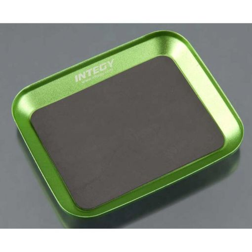 Magnetic Parts Storage Tray 88x107mm Green
