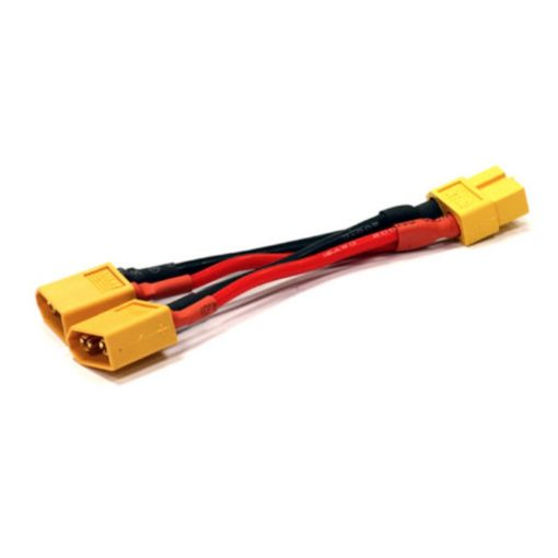 XT60 Parallel 2-Battery Conn Adapter Wire Harness