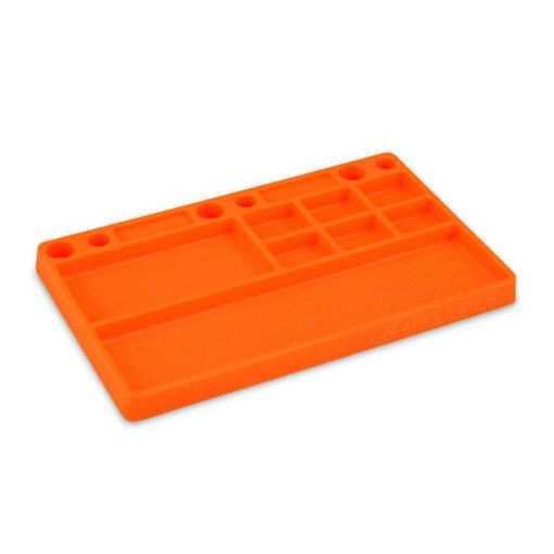 Tray, Rubber Material - Orange Size: 181mm x 114mm x 12.5mm