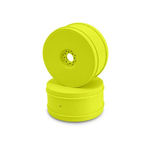 1/8 Bullet 83mm Buggy Wheel, Yellow  (4)