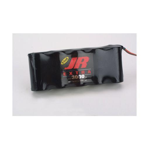Extra Receiver Pack 3000mAh 6V NiCd Flat
