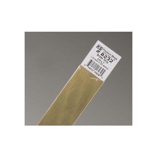 """.016 x 1\"""" Brass Strip (1 pc per card)"""