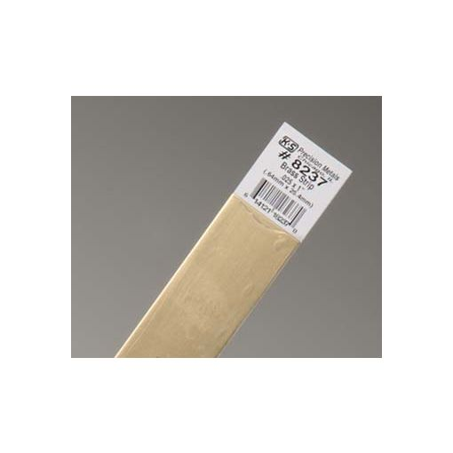 ".025 x 1"" Brass Strip (1 pc per card)"