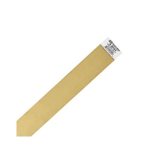 """.032 x 2\"""" Brass Strip (1 pc per card)"""