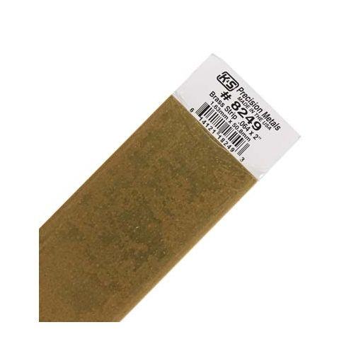 """.064 x 2\"""" Brass Strip (1 pc per card)"""