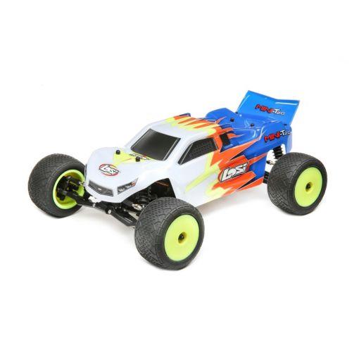 1/18 Mini-T 2.0 RTR, Blue/White: 2wd