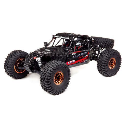 1/10 Lasernut U4 Black, SMART ESC: 4WD RTR