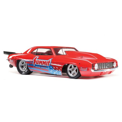 1/10 '69 Camaro 22S No Prep Drag Car, Brushless 2WD RTR, Summit